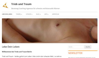 Trieb und Traum Website